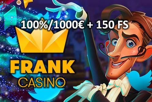 Frank Casino Bônus