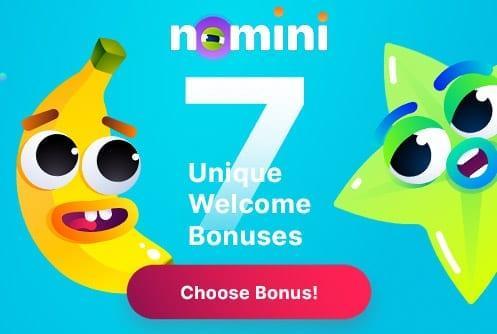 Nomini Casino 7 Welcome Bônus