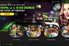 888 Casino Welcome Screen