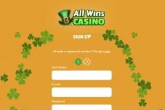 All Wins Casino Registration