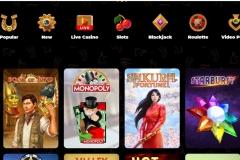 AmunRa Casino Top Games