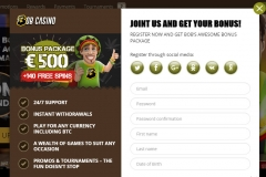 Bob Casino Registration