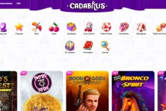 Cadabrus Casino Game Selection