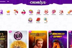 Cadabrus Casino Game Selection