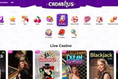 Cadabrus Casino Live Casino