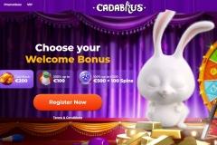 Cadabrus Casino Main Screen
