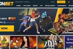 CampeonBet Casino Welcome Screen