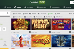 Campobet Casino Games