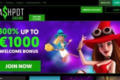 Cashpot Casino Welcome Screen