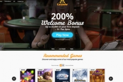 Casimba Casino Welcome Screen