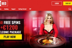Casino 14 Red Welcome Screen