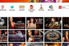 Casino 14 Red Live Screen