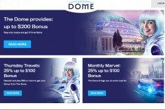 Casino Dome Bonuses