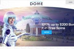 Casino Dome Main Page