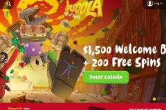 Casoola Casino Welcome Screen