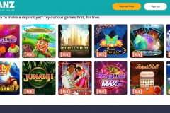 Chanz Casino Slot Games