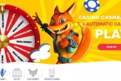 Crazy Fox Casino Welcome Screen