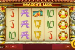Dragon's Luck Slot Base Play