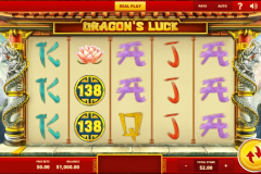Dragon's Luck Slot screenshot