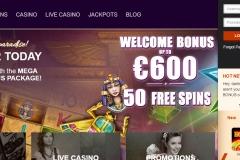 Eat Sleep Bet Casino Welcome Screen