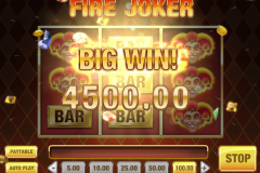 Fire Joker Slot Big Win