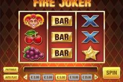 Fire Joker Slot Bet