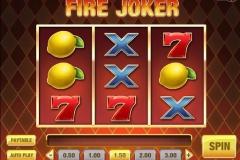 Fire Joker Slot Gameplay