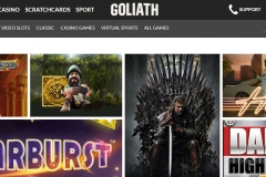 Goliath Casino Slot Games