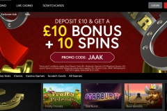 Jaak Casino Promotions