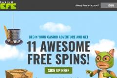 Casino Jefe Welcome Screen