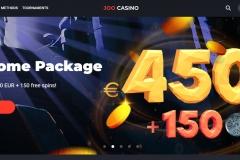Joo Casino Welcome Screen