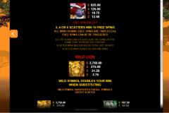 Mega Moolah Slot Wild and Scatter Symbol