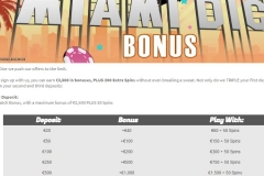 Miami Dice Casino Bonus