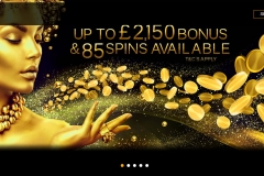 Midaur Casino Welcome Screen