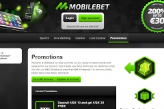 Mobilebet Casino Promotions