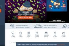 Mr. Bet Casino Welcome Screen