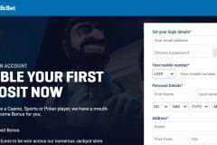 NordicBet Casino Registration