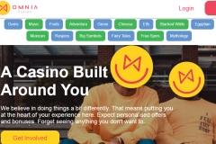 Omnia Casino screenshot