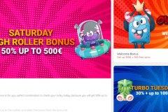 Ovitoons Casino  Bonuses Page
