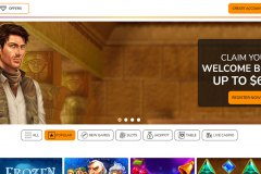 Playigo Casino homepage