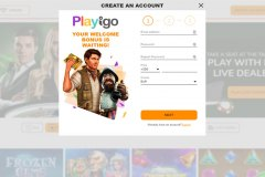Playigo Casino singup