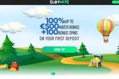 Slotnite Casino Home Page