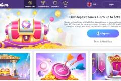 Slotum Casino First Deposit Bonus