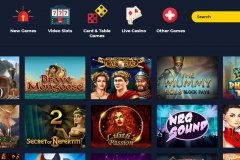 SpinUp Casino Slot Games