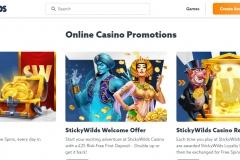 Sticky Wilds Casino Bonuses