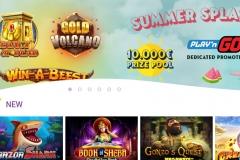 Will's Casino Welcome Screen