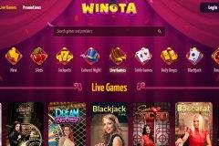 Winota Casino Live Casino