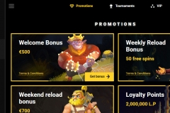 Zet Casino Bonuses