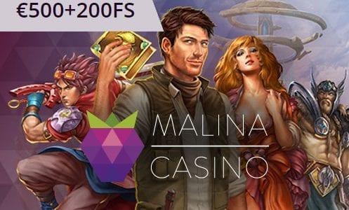 Malina Casino Bonuses