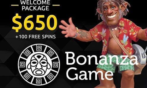 Bonanzagame Casino Welcome Package